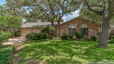 San Antonio Single Family Home New: 14310 Chimney House Ln