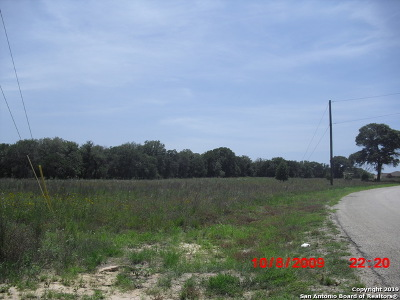La Vernia Residential Lots & Land Active RFR: 780 Lake Valley Dr