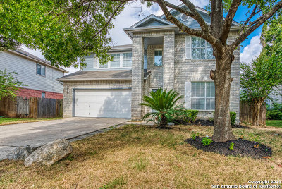 San Antonio Single Family Home New: 12311 Stable Pass