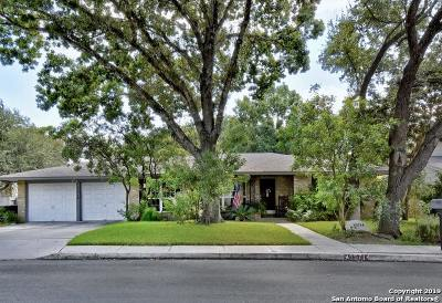 San Antonio Single Family Home New: 15714 Blue Creek St