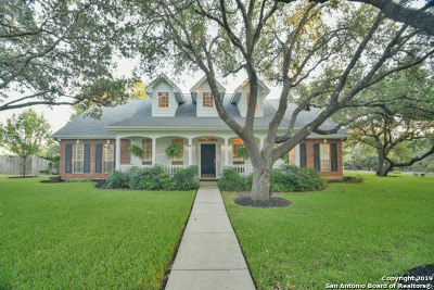 San Antonio Single Family Home New: 8626 Oak Thicket
