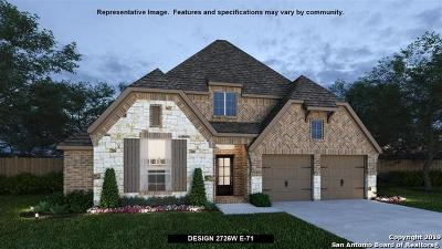 Boerne Single Family Home New: 104 Coleto Creek