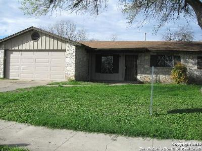 San Antonio Single Family Home New: 7815 Remuda Dr