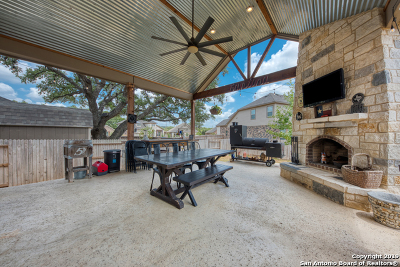 Helotes Single Family Home New: 10575 Far Reaches Ln