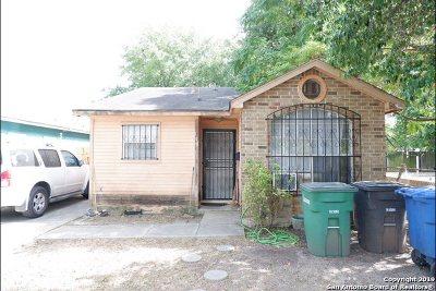 San Antonio Single Family Home New: 110 Huerta St