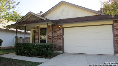 San Antonio Single Family Home New: 3306 Stoney Briar