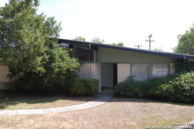 San Antonio Single Family Home New: 202 Coronet St
