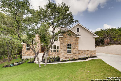 Bexar County Single Family Home New: 23643 Verde River