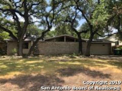 San Antonio Single Family Home New: 3518 Fallen Leaf