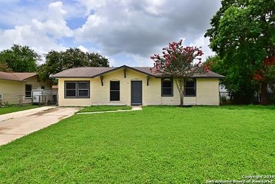 San Antonio Single Family Home New: 323 Tidewind St