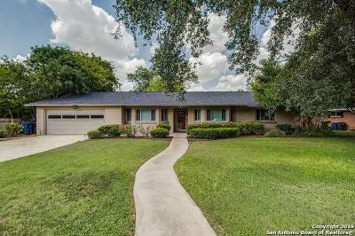 San Antonio Single Family Home New: 619 Cave Ln
