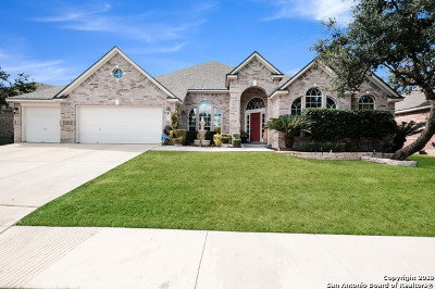 San Antonio Single Family Home New: 1715 Lookout Forest