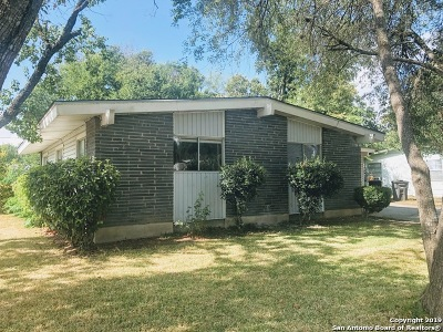 San Antonio TX Single Family Home New: $138,000