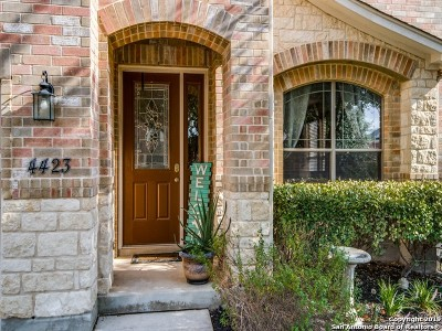 San Antonio Single Family Home New: 4423 Orchard Rim