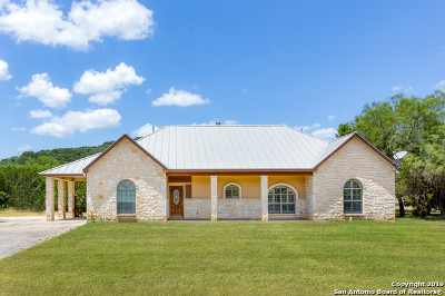 Helotes Single Family Home New: 16825 Scenic Loop Rd