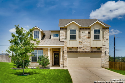 Boerne Single Family Home New: 7447 Valle Msn