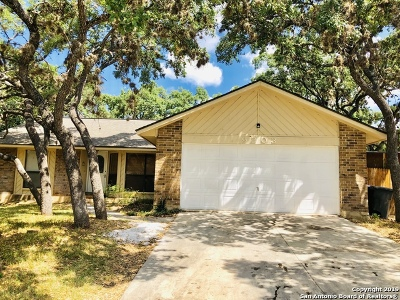 San Antonio Single Family Home New: 9203 Ridge Wind