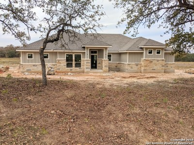 La Vernia Single Family Home New: 204 Cibolo Ridge