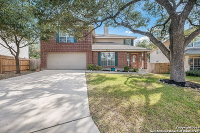 Helotes Single Family Home Active Option: 9714 Gallina