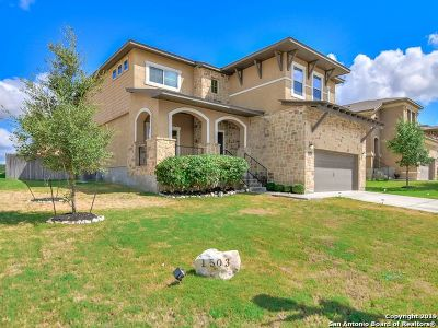 Bexar County Single Family Home New: 1503 Eagle Glen