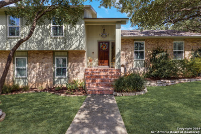 San Antonio Single Family Home New: 12723 Castle Bend St