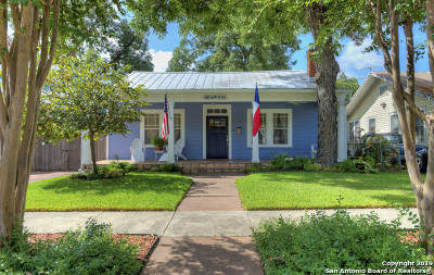 San Antonio Single Family Home New: 826 W Craig Pl