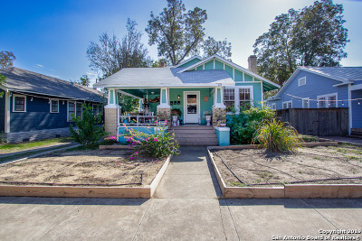 San Antonio Single Family Home New: 822 W Craig Pl