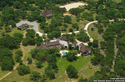 Boerne TX Single Family Home For Sale: $5,250,000