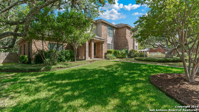 San Antonio Single Family Home New: 17902 Crystal Knoll