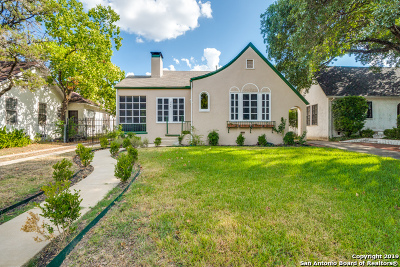San Antonio Single Family Home New: 306 W Lullwood Ave