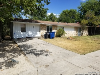 Bexar County Single Family Home New: 211 Ranch Valley Dr
