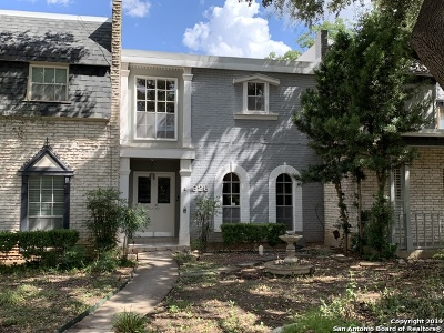 San Antonio Condo/Townhouse New: 628 Strings Dr