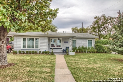 San Antonio Single Family Home New: 1135 Nolan St