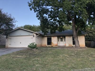 San Antonio Single Family Home New: 8326 Greenham