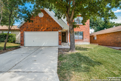 San Antonio Single Family Home New: 10315 Coral Village