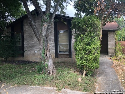 San Antonio Single Family Home New: 1329 Churing Dr