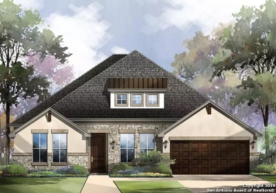 Boerne Single Family Home New: 124 Cantina Sky