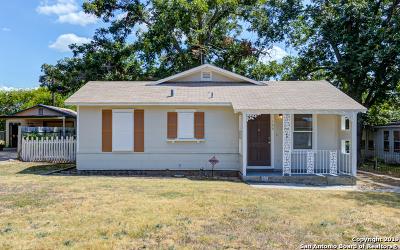San Antonio Single Family Home New: 106 Glamis Ave