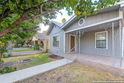 San Antonio Single Family Home Active Option: 111 C St