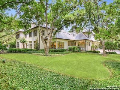 Olmos Park TX Single Family Home For Sale: $5,795,000