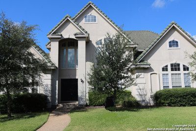 Stone Oak Single Family Home For Sale: 19207 Reata Trail