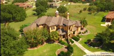 New Braunfels TX Single Family Home For Sale: $829,000
