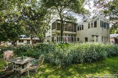 San Antonio Single Family Home Price Change: 525 E Craig Pl