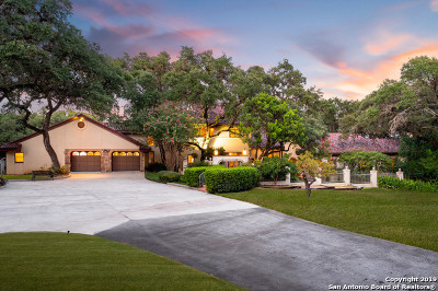 San Antonio Single Family Home For Sale: 14635 Blanco Rd
