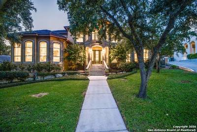 San Antonio Single Family Home For Sale: 17915 Butte Hill