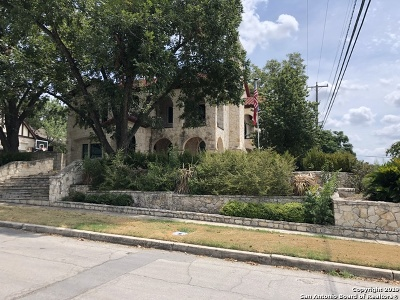 Alamo Heights Single Family Home For Sale: 102 Cloverleaf Ave