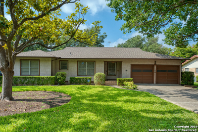 Balcones Heights Single Family Home Active RFR: 114 Hannasch Dr