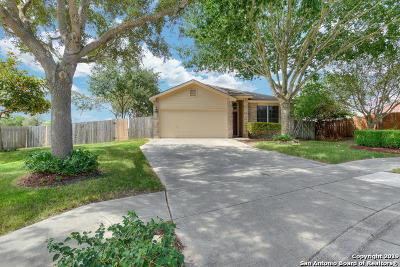 Cibolo Single Family Home Active Option: 100 Westerly Pl