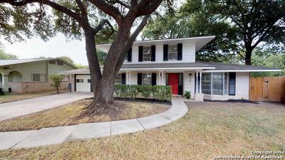 San Antonio TX Single Family Home For Sale: $255,000