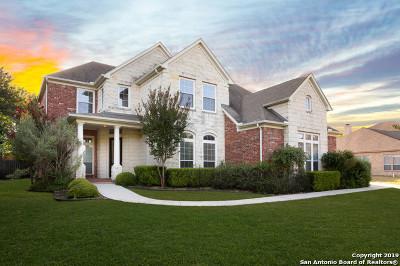 Boerne Single Family Home Price Change: 8332 Monument Oak